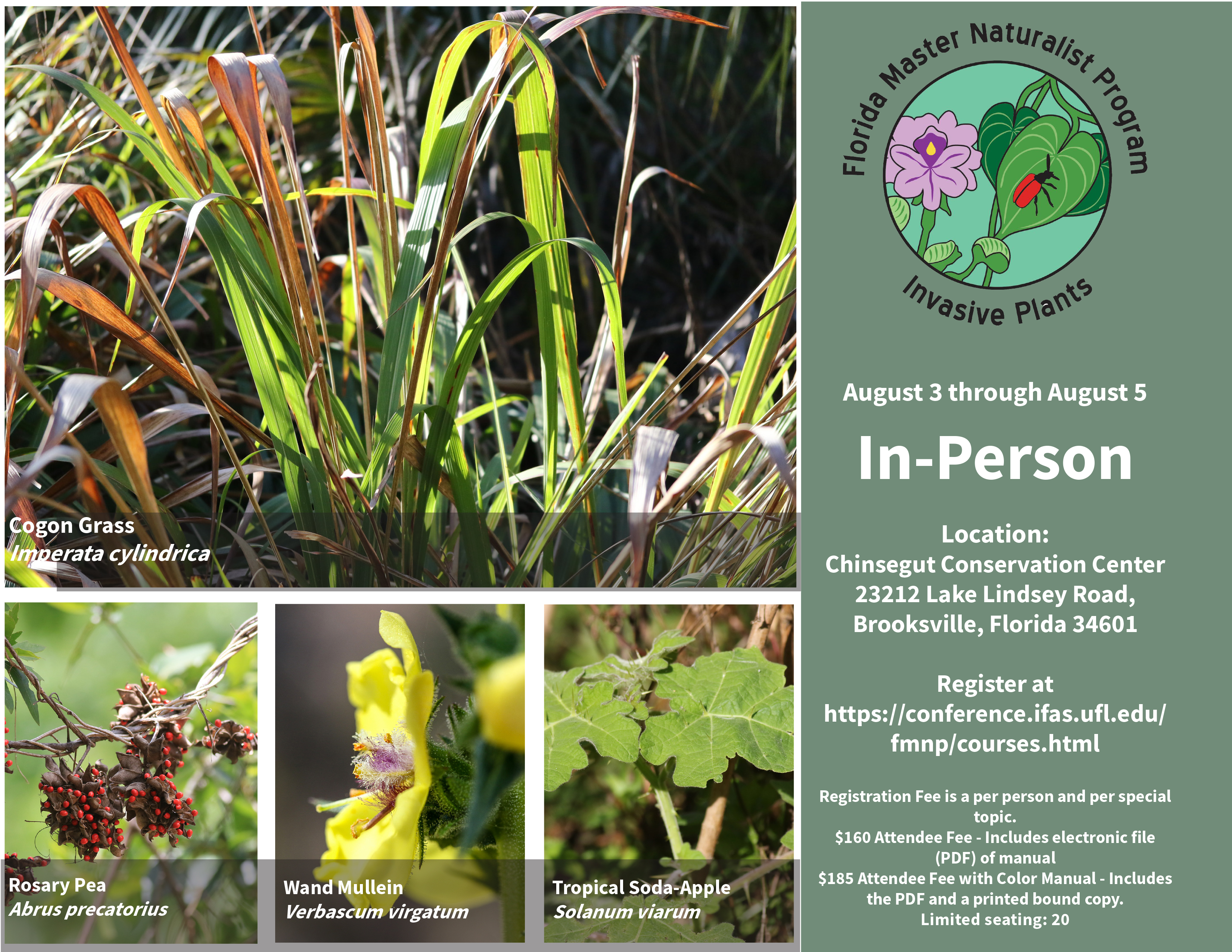 Florida Master Naturalist Program- Invasive Plants of Florida